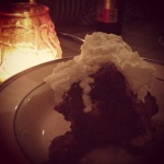 Chocolate Bread Pudding @ The Woodland